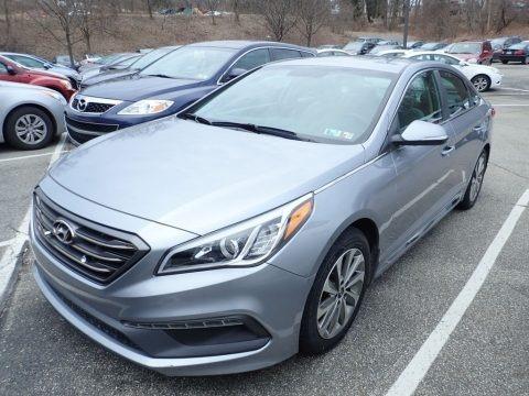 Shale Gray Metallic 2016 Hyundai Sonata Sport