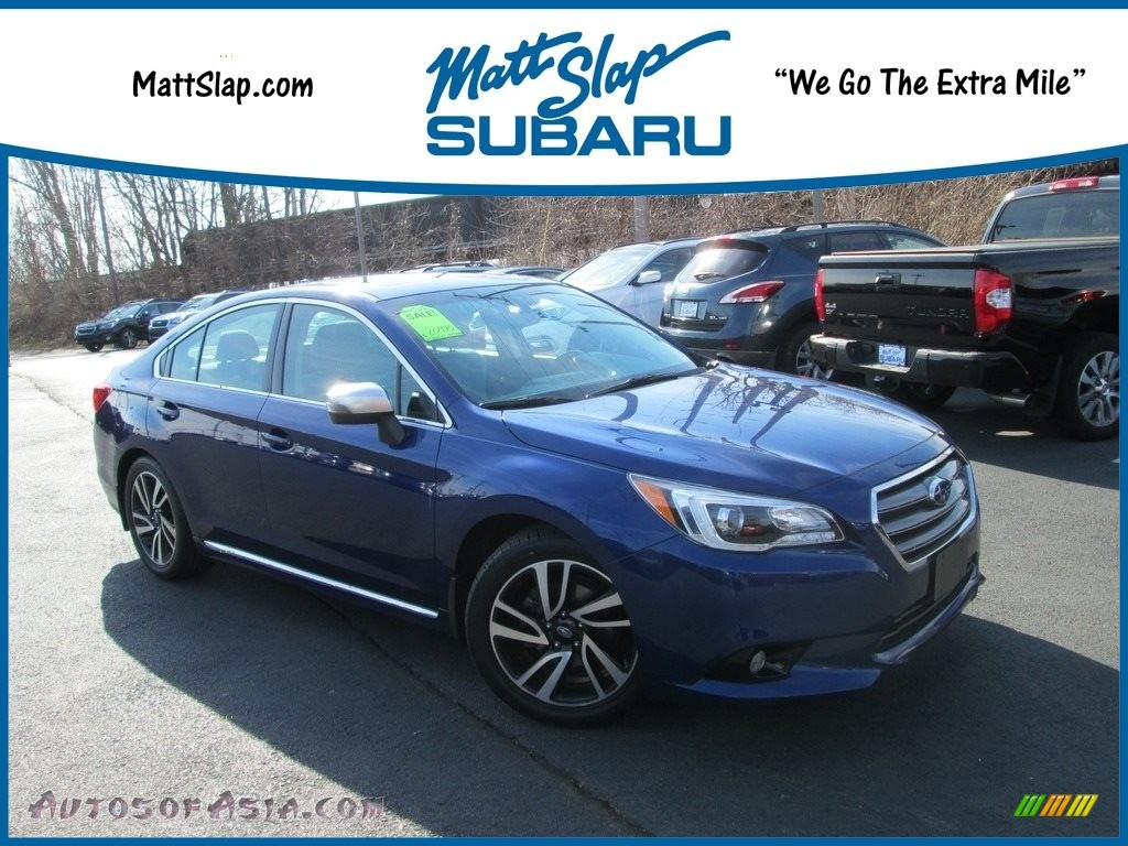 2017 Legacy 2.5i Sport - Lapis Blue Pearl / Sport Two-Tone Gray photo #1