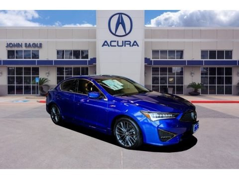 Apex Blue Pearl 2019 Acura ILX Technology