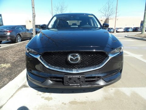 Jet Black Mica 2019 Mazda CX-5 Grand Touring AWD