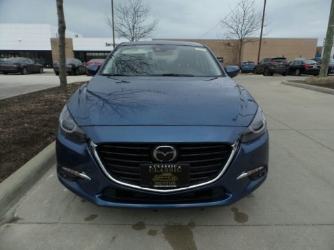 Eternal Blue Mica 2018 Mazda MAZDA3 Grand Touring 4 Door