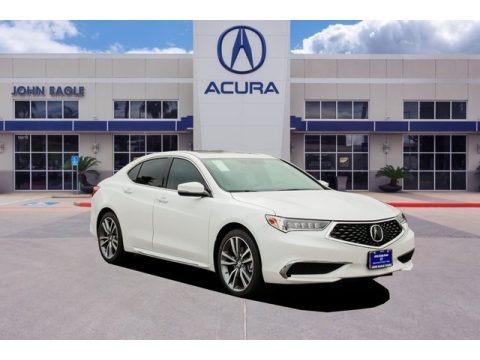 Lunar Silver Metallic 2019 Acura TLX V6 Sedan