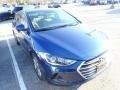 Hyundai Elantra SEL Electric Blue photo #4
