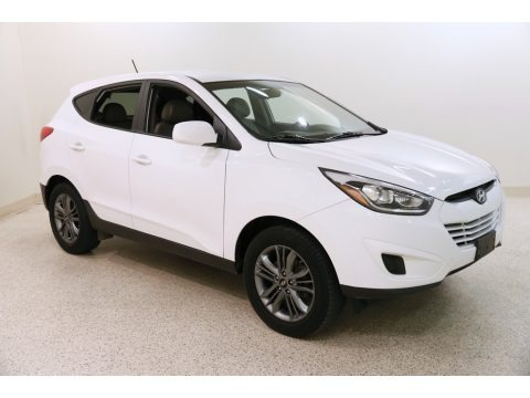 Winter White 2015 Hyundai Tucson GLS AWD