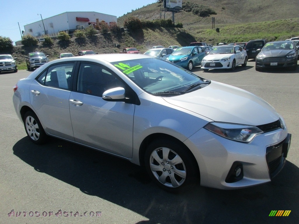 2014 Corolla S - Classic Silver Metallic / Steel Blue photo #1
