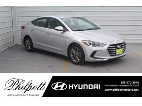 Symphony Silver 2018 Hyundai Elantra SEL
