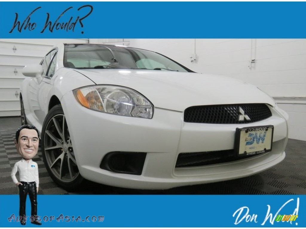 2012 Eclipse SE Coupe - Northstar White / Dark Charcoal photo #1