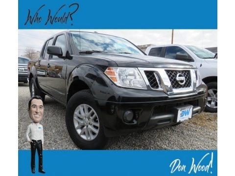 Magnetic Black 2018 Nissan Frontier SV Crew Cab 4x4