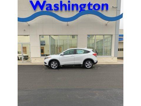 Platinum White Pearl 2019 Honda HR-V LX AWD