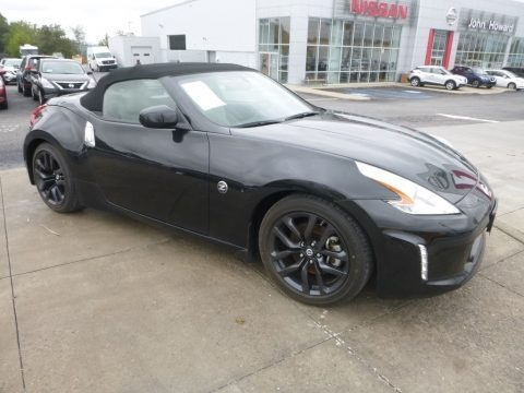 Magnetic Black 2016 Nissan 370Z Touring Roadster