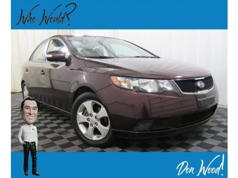 Spicy Red 2010 Kia Forte EX