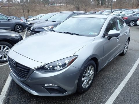 Liquid Silver Metallic 2014 Mazda MAZDA3 i Touring 4 Door