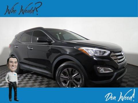 Twilight Black 2015 Hyundai Santa Fe Sport 2.4 AWD