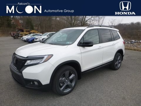 White Diamond Pearl 2019 Honda Passport Touring AWD