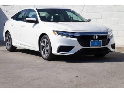 White Orchid Pearl 2019 Honda Insight EX