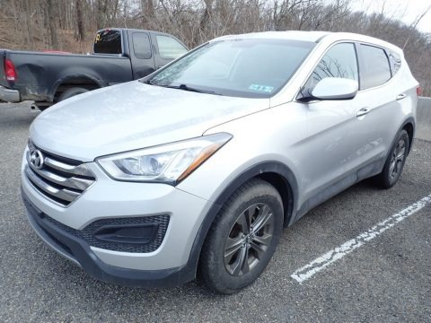 Moonstone Silver 2014 Hyundai Santa Fe Sport AWD