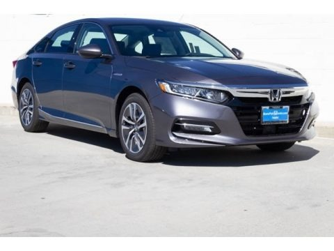 Modern Steel Metallic 2019 Honda Accord EX Hybrid Sedan