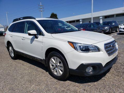 Crystal White Pearl 2016 Subaru Outback 2.5i Premium
