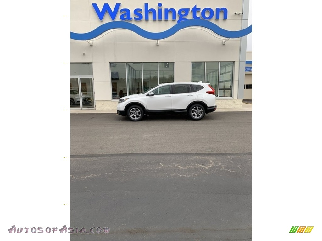 2019 CR-V EX-L AWD - Platinum White Pearl / Black photo #1