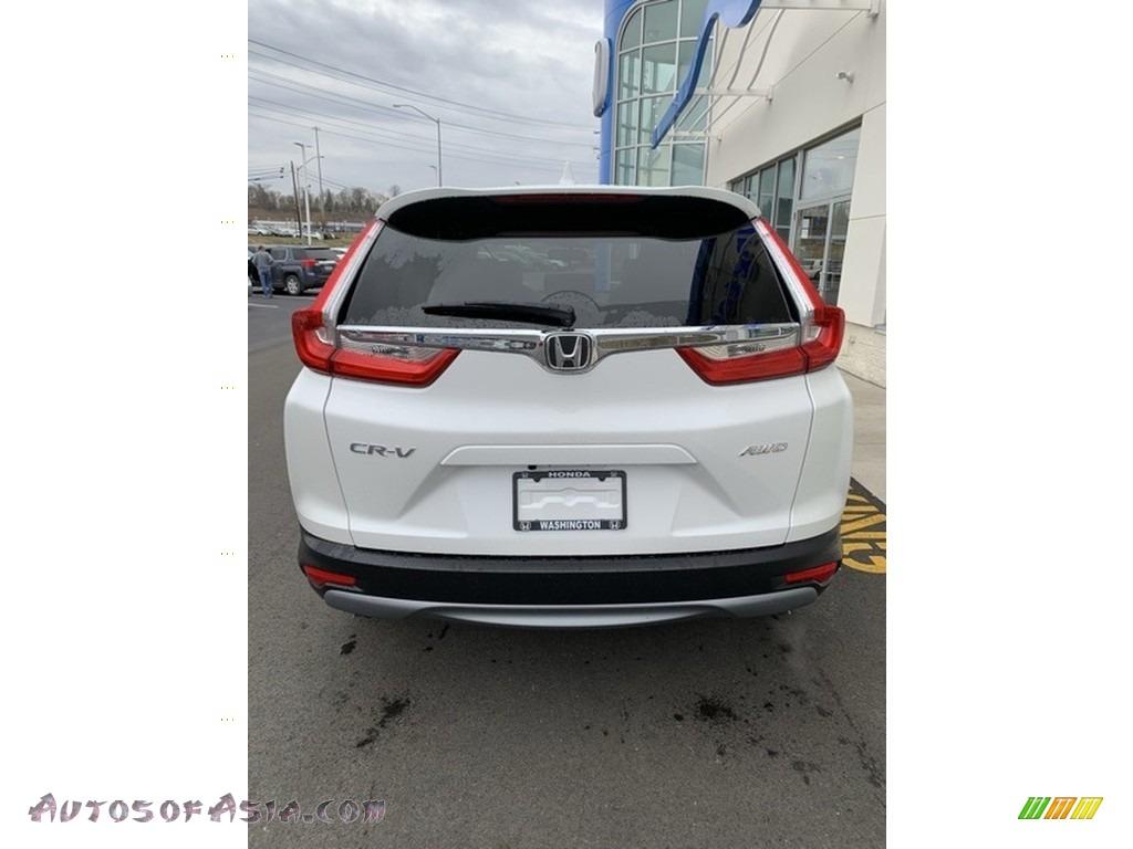 2019 CR-V EX-L AWD - Platinum White Pearl / Black photo #6