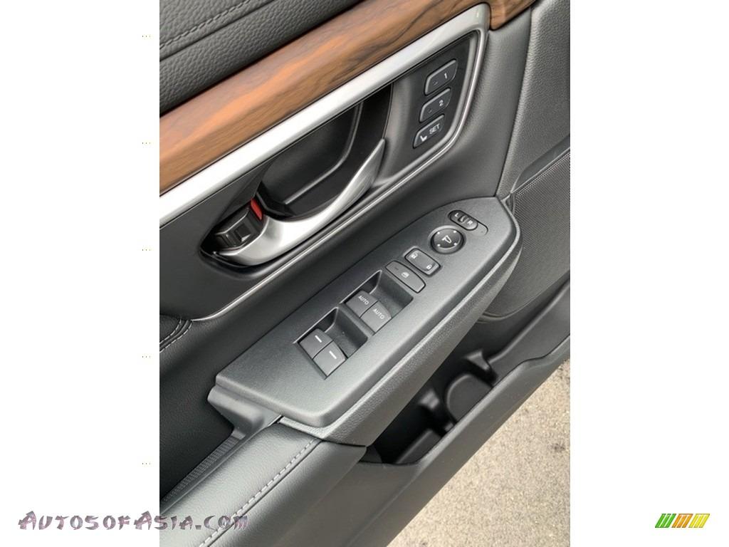 2019 CR-V EX-L AWD - Platinum White Pearl / Black photo #9