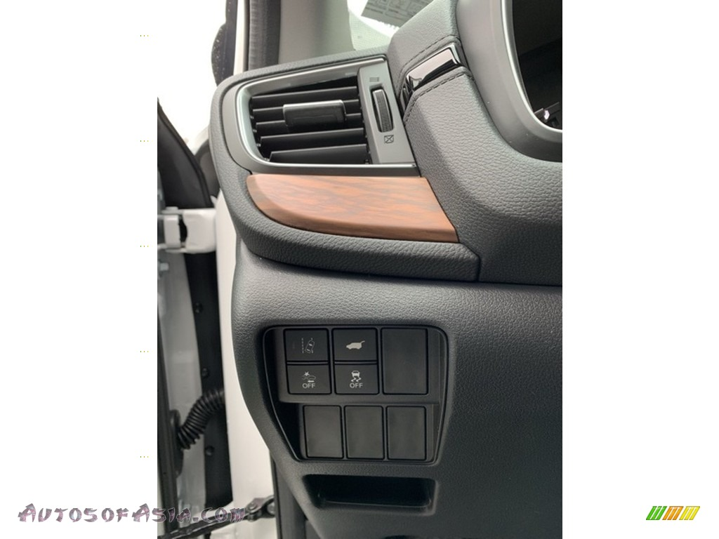 2019 CR-V EX-L AWD - Platinum White Pearl / Black photo #10