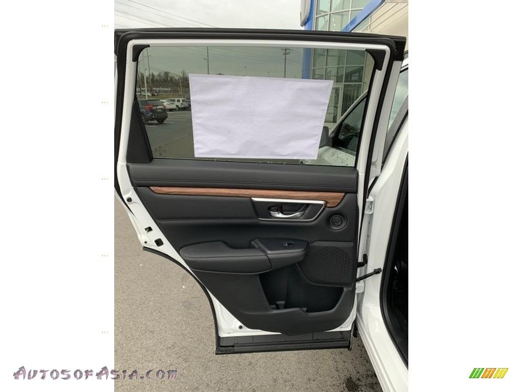 2019 CR-V EX-L AWD - Platinum White Pearl / Black photo #16