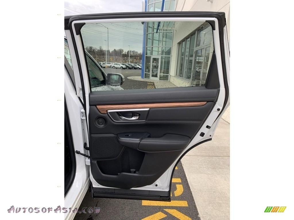 2019 CR-V EX-L AWD - Platinum White Pearl / Black photo #24