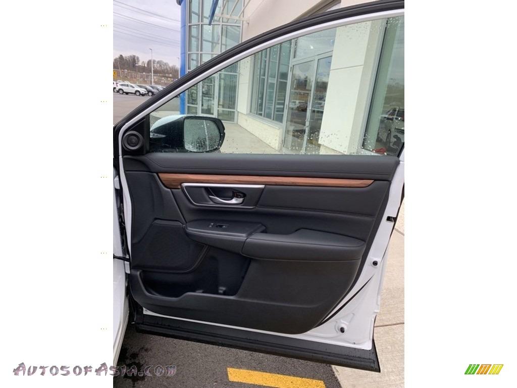 2019 CR-V EX-L AWD - Platinum White Pearl / Black photo #27