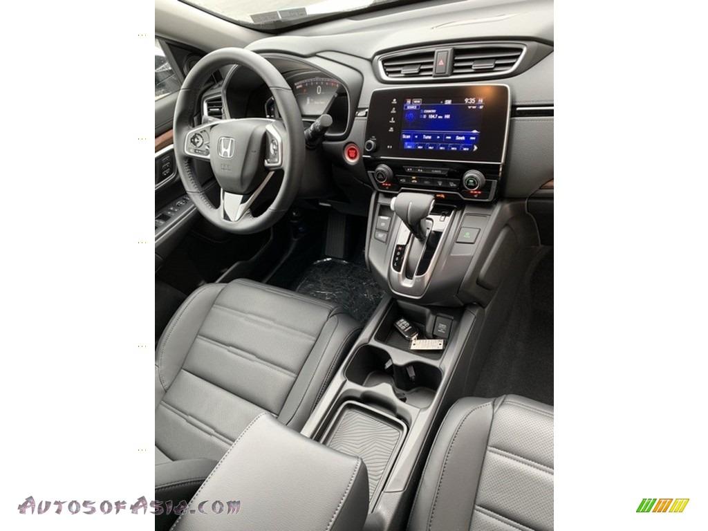 2019 CR-V EX-L AWD - Platinum White Pearl / Black photo #29