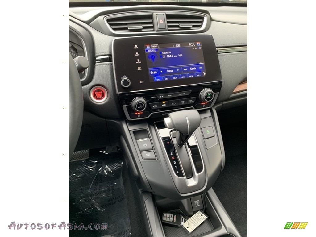 2019 CR-V EX-L AWD - Platinum White Pearl / Black photo #34