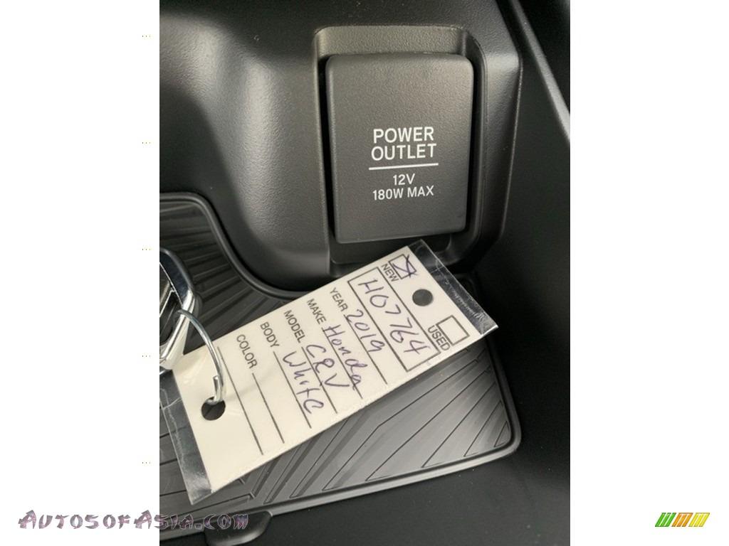 2019 CR-V EX-L AWD - Platinum White Pearl / Black photo #40