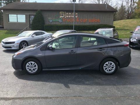Magnetic Gray Metallic 2016 Toyota Prius Two