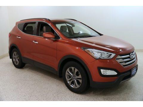 Canyon Copper 2015 Hyundai Santa Fe Sport 2.4 AWD