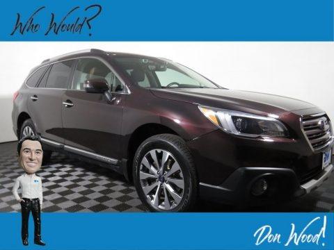 Brilliant Brown Pearl 2017 Subaru Outback 2.5i Touring