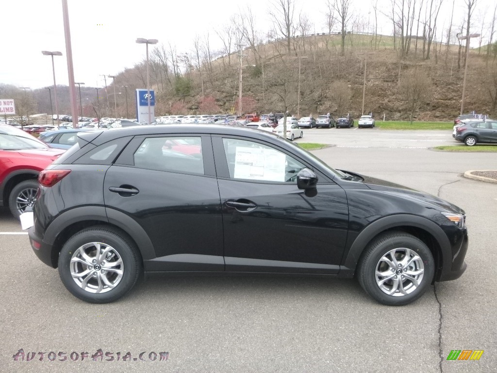 2019 CX-3 Sport AWD - Jet Black Mica / Black photo #1