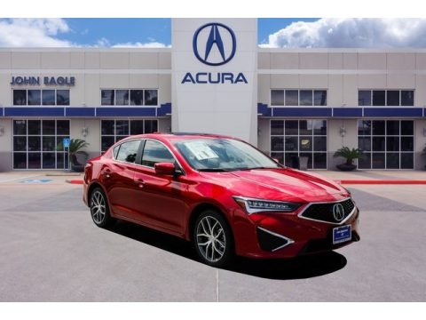 Performance Red Pearl 2019 Acura ILX Technology