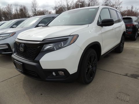 White Diamond Pearl 2019 Honda Passport Sport AWD