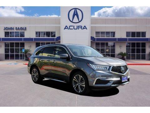 Modern Steel Metallic 2019 Acura MDX Technology