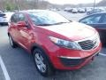 Kia Sportage LX AWD Signal Red photo #5