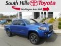 Toyota Tacoma TRD Sport Double Cab 4x4 Blazing Blue Pearl photo #1
