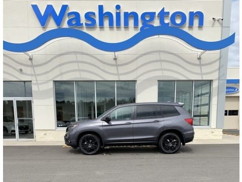 Modern Steel Metallic 2019 Honda Passport Sport AWD