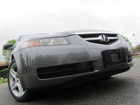 Satin Silver Metallic 2005 Acura TL 3.2