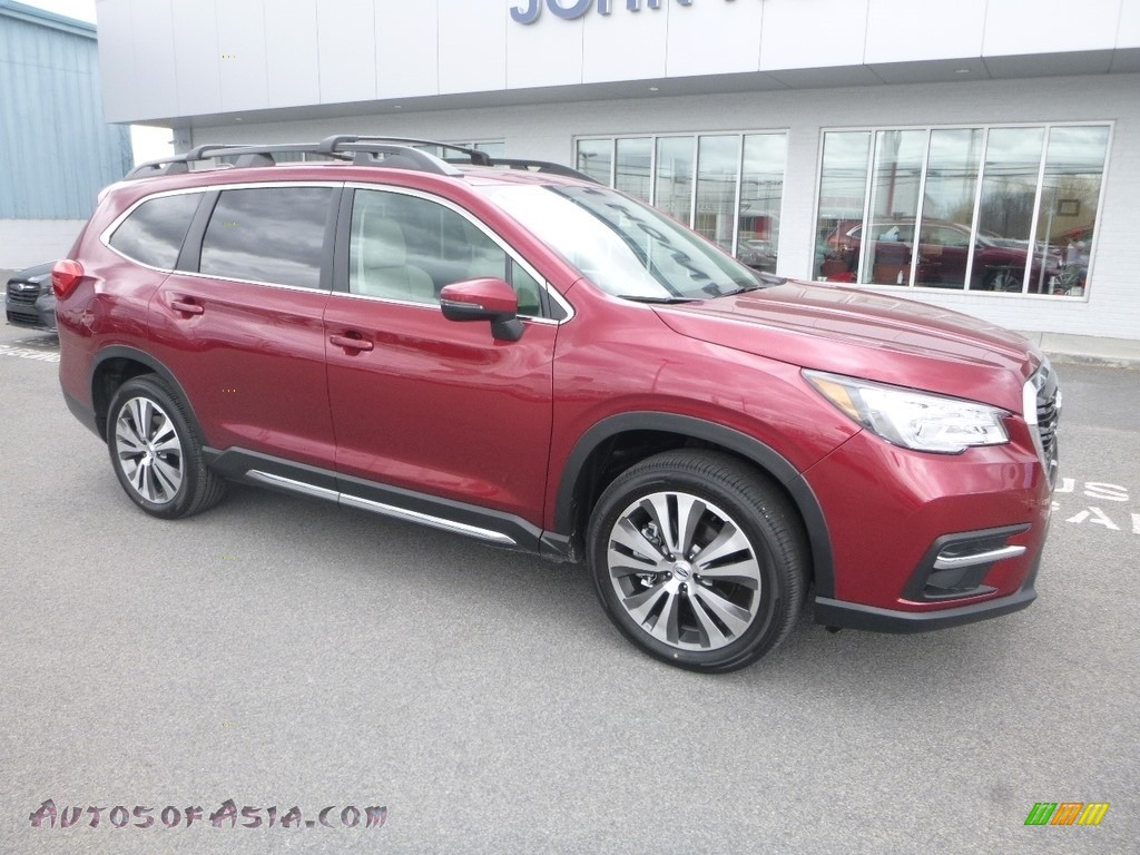 2019 Ascent Limited - Crimson Red Pearl / Warm Ivory photo #1