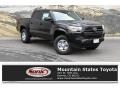 Toyota Tacoma SR Double Cab 4x4 Midnight Black Metallic photo #1