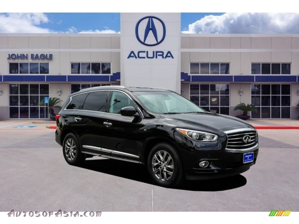 2015 QX60 3.5 AWD - Black Obsidian / Graphite photo #1