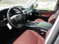 Lexus LX 570 Nebula Gray Pearl photo #2