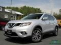 Nissan Rogue SL AWD Brilliant Silver photo #1