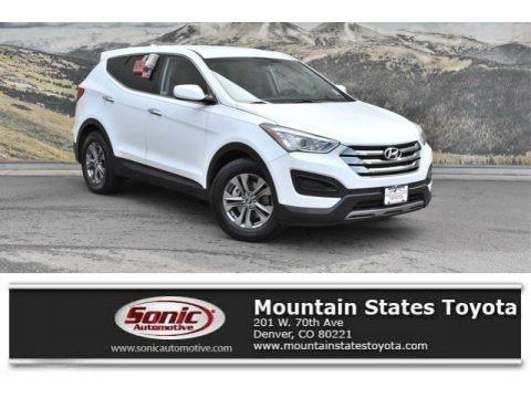 Frost White Pearl 2013 Hyundai Santa Fe Sport AWD