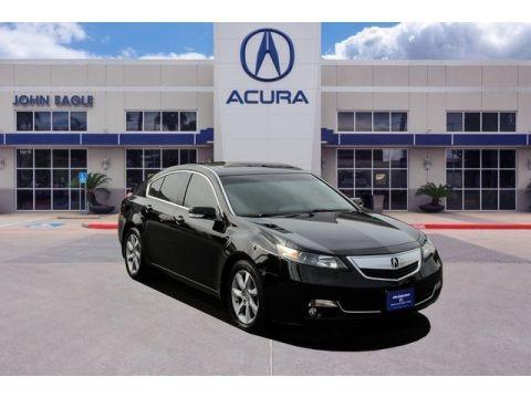 Crystal Black Pearl 2013 Acura TL